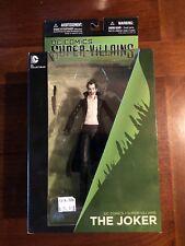 DC Comics Super-Villians Joker Figure In Package!