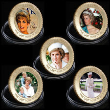 WR Royal Princess of Wales Diana Commemorative Coin Sets Birthday Gifts Her 24K