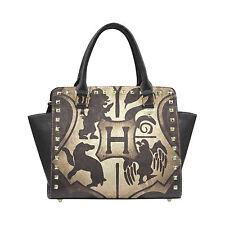 Harry Potter Hogwarts Bag Rivet Shoulder Handbag for Women