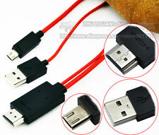 MHL Micro USB to HDMI 1080P HDTV Adapter Converter Cable For Cell Phone Tablet