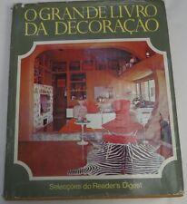 The Big Book of Interior Design - O Grande Livro Da Decoração Portuguese 1975