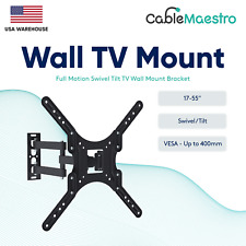 Full Mo 00001A02 tion Tv Wall Mount Bracket 17 27 32 37 42 43 46 50 55 inch Lcd Led Oled