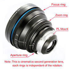 Cinematics Tokina 11-16mm T3.0 PL mount for Sony FS7 F5 RED EPIC BMCC BMPCC C300