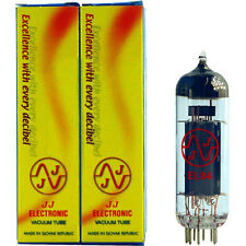 NEW -- Matched Pair of JJ/Tesla EL84 6BQ5 power tubes