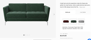 "''BoConcept 2 seater Sofa frame ''- $2189-$4019"""