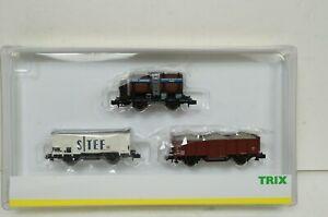 Spur N--TRIX - 15646 ..SNCF Güterwagen-Set  ..OVP ..G2 /55