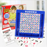 SUDOKU Puzzle Classic puzzle board game Children develop logical thinking train