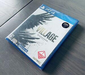 PS4 Resident Evil 8 Village BIOHAZARD Z Version Japan Sealed PlayStation 4 Rare