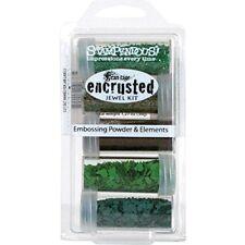 Stampendous Plastic Encrusted Jewel Kit 5 kg-Green Glitter Embossing Powder