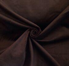8 Metres Chocolate Fine Microcord Corduroy Curtain & Upholstery Fabric