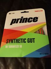 PRINCE SYN GUT DURAFLEX 16 RAINBOW LTD EDITION TENNIS STRING FREE SHIP BUY NOW