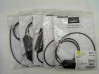 Jabra 14201-43 Link Electronic Hook Switch Adapter Black - LOT OF 5