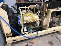 100 KW GENERATOR KOHLER LP PROPANE NATURAL GAS 120/208V RE-CONNECTABLE 100RZ