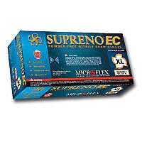 Microflex Sec 375 Xl Supreno Ec Powder Free Extended Cuff Nitrile Gloves Xl