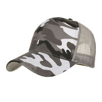 Camouflage Summer Cap Mesh Hats For Men Women Casual Hats Hip Hop Baseball Caps