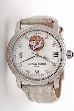 $5000 Frederique Constant Automatic Ladies 1ct VS F Diamond MOP Automatic Watch