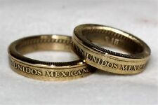 Coin Ring 10 Pesos Mexico (2ring X$25)size 4 to 15 ask your size when you buy it