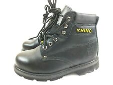 Rhino 60S21 Black size 7.5 Steel Toe Safety Work Boots