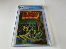 JOHN LAW DETECTIVE 1 CGC 9.4 WILL EISNER ECLIPSE COMICS 1983