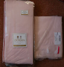 NEW Dorma Petal baby Pink Superking Valance 183x200x38 200 Thread 1 Pillowcase