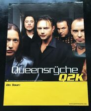 """QUEENSRYCHE """"Q2K"""" ON TOUR U.S. 1999 PROMOTIONAL POSTER 18""""X24"""" VG CONDITION"""