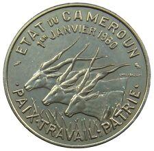(A42) - Kamerun Cameroon - 50 Francs 1960 - Elenantilopen - XF-UNC - KM# 13