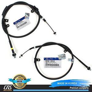 GENUINE Parking Brake Cable Set REAR Fits 02-03 Hyundai Elantra 59760-2D310⭐⭐⭐⭐⭐