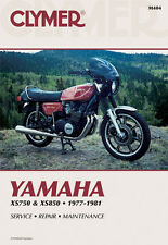 Clymer Repair Service Shop Manual Vintage Yamaha XS750 XS750 ll XS850/S