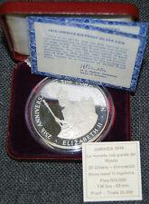 Jamaïque 25$ dollars 1978 25th Anniversaire Couronnement D'Elizabeth II Silber