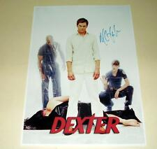 "DEXTER PP SIGNED 12"" X 8"" INCH POSTER MICHAEL C HALL"
