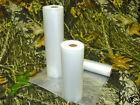 3 ROLLS  (1) 8x18' & (2) 11x20' Vacuum Sealer - Compare w/ Free Foodsaver Bag!