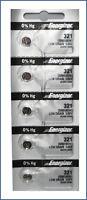 ENERGIZER 321 SR616SW SR616 Silver Oxide 5 Pack