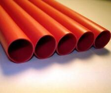 "1/4"" ADHESIVE LINED HEAT SHRINK TUBING MARINE AUTO WATERPROOF USA - RED - $/ft"