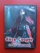 dvds alice cooper welcome to my nightmare the black widow devil's food steven gq