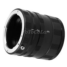 Macro Extension Tube Ring Set For Pentax PK K Mount series DSLR &SLR Camera Lens
