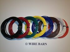 18 AWG MTW / TEW / UL1015 - 18 AWG HOOKUP WIRE - 8 COLORS - 25' EACH COLOR