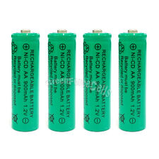 4 x AA 900mAh Ni-Cd NICD Ni-Cad 1.2V rechargeable battery cell/RC Green US Stock