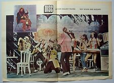 Roy Wood 1973 Poster Wizzard