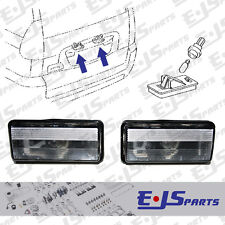2 x Toyota Original Number Plate Lights for Land Cruiser Amazon Lexus LX GX