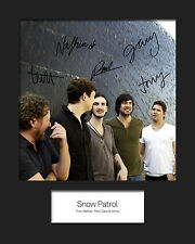 SNOW PATROL #3 10x8 SIGNED Mounted Photo Print - FREE DELIVERY