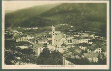ZIANO, Trento. Panorama, cartolina d'epoca viaggiata nel 1930