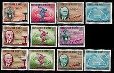 HAITI. Olympic Games. Rome. Olympic Victors. 1960 Scott 462...C165. MNH (BI#1)