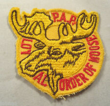 Loyal Order of the Moose P.A.P. Embroidered Patch