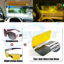 HD Car auto Anti-glare Glass Goggles Mirror Sun Visor Pad for Day Night Driving