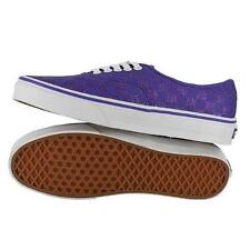 NEW VANS AUTHENTIC GLITER CHECK LIBERTY PURPLE SHOES MENS 9 WOMENS 10.5 27 CM