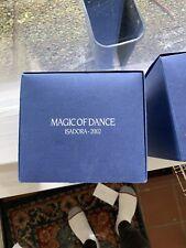 Swarovski crystal figurines magic of dance Isadora 2002