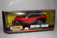 MATCHBOX DIECAST COLLECTIBLES JEEPSTER CONCEPT VEHICLE, 1:18 SCALE, BOXED