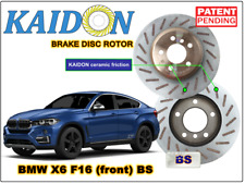 "BMW X6 F16 disc rotor KAIDON (front) type ""BS"" spec"