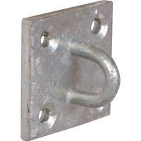 NEW Chain Plate Staple Galvanised Each