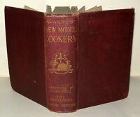 Warne's New Model Cookery, Practical Information, Mabel Wijey, F Warne & Co 1926